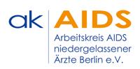 Logo Arbeitskreis AIDS der niedergelassenen Ärzte Berlin e.V.